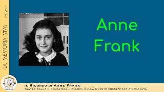 Il 75esimo anniversario della morte di Anna Frank