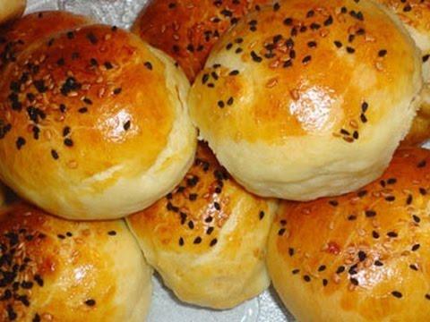 Легкий рецепт Турецкие булочки с творогом и зеленью Булочки с начинкой. Peynirli Poğaça Tarifi.