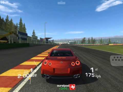 [iOS] Real Racing 3 - Nissan GT-R [R35], Drag Race, Cup (Spa)