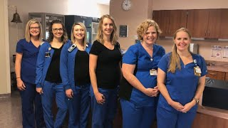 Six nurses in same hospital unit find out they're pregnant within months of each other