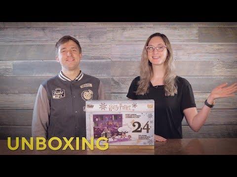 Harry Potter Advent Calendar Unboxing