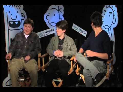 Zachary Gordon, Robert Capron, Devon Bostick Exclusive s for Diary of a Wimpy Kid 2