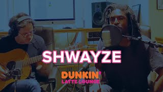 Shwayze Performs At Dunkin Latte Lounge