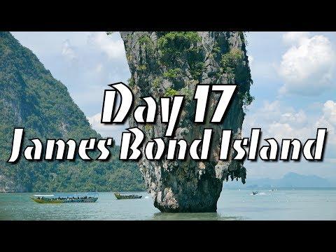 James Bond Island & Phang Nga Bay Tour [Vlog Phuket Day 17]