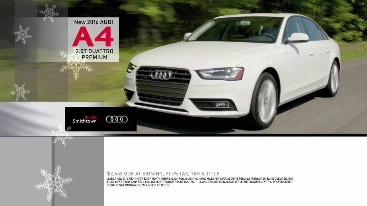 Audi A Lease Special Audi Of Smithtown Long Island YouTube - Audi smithtown
