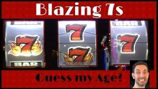 Guess My Age? BLAZING 7s Slot Machine ✦ LIVE PLAY ✦ Las Vegas & SoCal