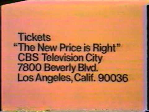 The New Price is Right Ticket Plug