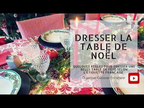 Dresser la table de Noël (Only in french)