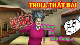 LongHunter Troll Bà Cô Giáo Bê Đê Thất Bại Thảm Hại...| Scary Teacher 3D #2