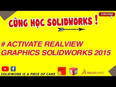 solidworks 2015 realview graphics not working