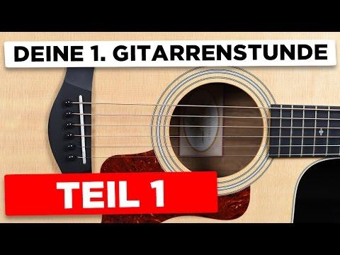 Gitarre lernen: 4 Akkorde greifen & wechseln lernen + 1 einfaches Lied & weitere Tipps