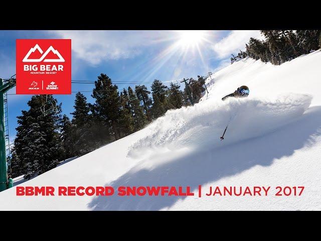 BBMR Record Snowfall January 2017