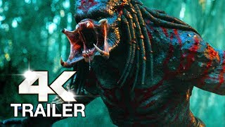 THE PREDATOR Trailer 2 (4K ULTRA HD) 2018
