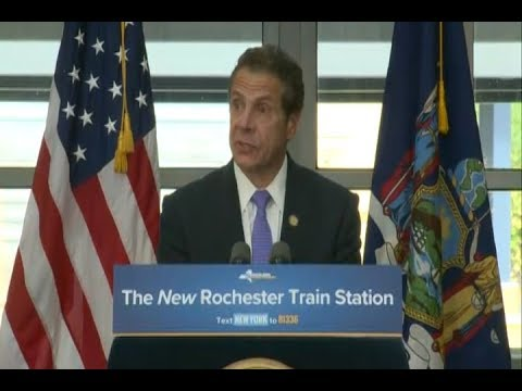 Governor Cuomo, Congresswoman Slaughter and Amtrak Open New Rochester Rail Station