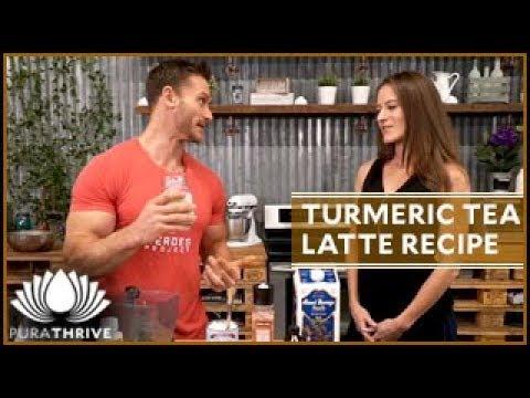 Turmeric Tea Latte Recipe: Curcumin Gold   PuraTHRIVE – Thomas DeLauer