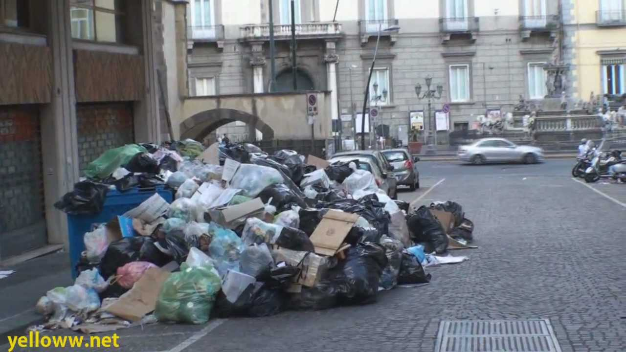 Naples Remains In The Grip Of A Waste Nightmare World News Guardian