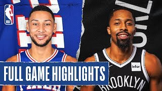 Gambar cover 76ERS at NETS | FULL GAME HIGHLIGHTS | January 20, 2020