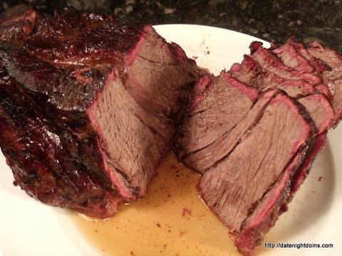 Roast Beef Slow Smoked  on the Louisiana Pellet Grill