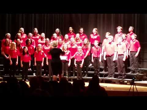 """""""Catch the Spirit, Share the Magic"""" Rossview Middle School Honor Choir"""