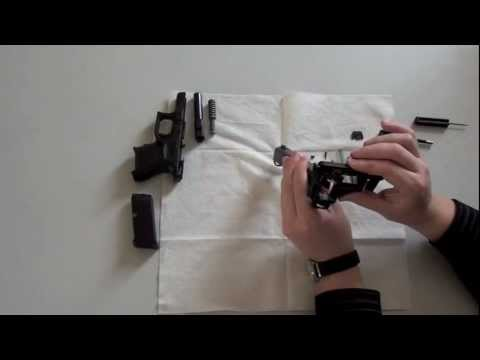 Glock 26 Gen4 detail strip - disassembly - reassembly