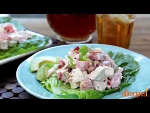 How to Make Chicken Salad with Bacon, Lettuce, and Tomato | Chicken Recipes | Allrecipes.com