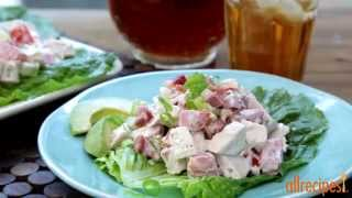 Chicken Recipes - How To Make Chicken Salad With Bacon, Lettuce, And Tomato