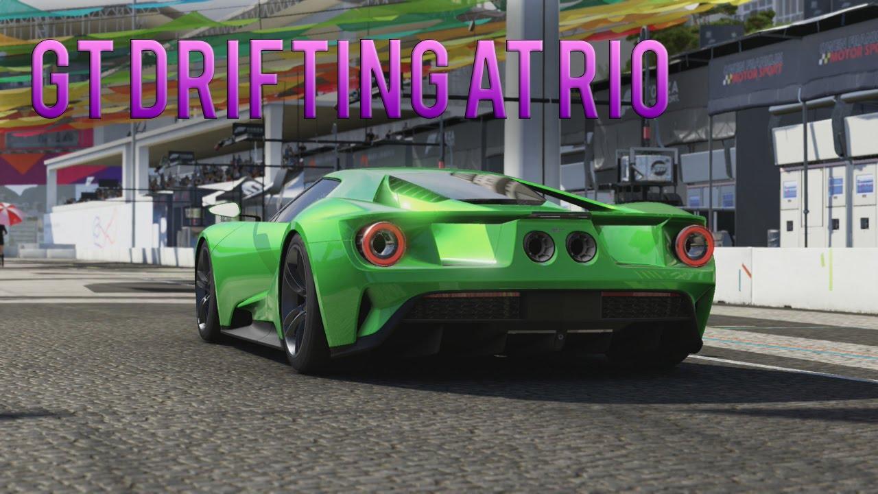 Forza Motorsport   Ford Gt Drifting At Rio