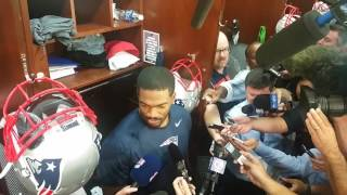 Jacoby Brissett reflects on first game action with Patriots