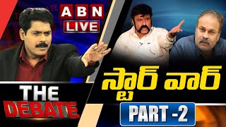 The Debate With Venkata Krishna | BalakrishnaVsNagababu | Part 2 | ABN Telugu