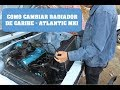 COMO CAMBIAR RADIADOR DE CARIBE - ATLANTIC GOLF MK1
