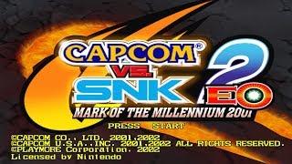 Capcom vs. SNK 2: EO (GameCube) - Nvidia Shield TV Gameplay
