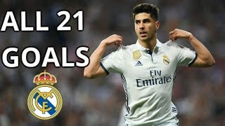 Marco Asensio All Goals For Real Madrid 2016-2018