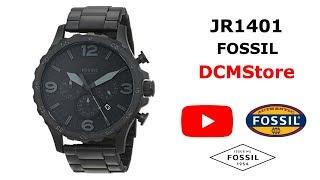 JR1401 Fossil Nate Chronograph Black Militar ..... DCMStore