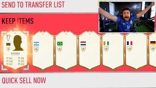10 GUARANTEED ICON PACKS!! FIFA 20