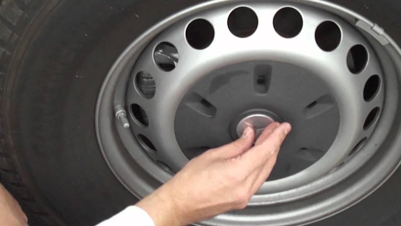 Dodge Sprinter Mercedes Hubcaps Alloy Sticker Installation