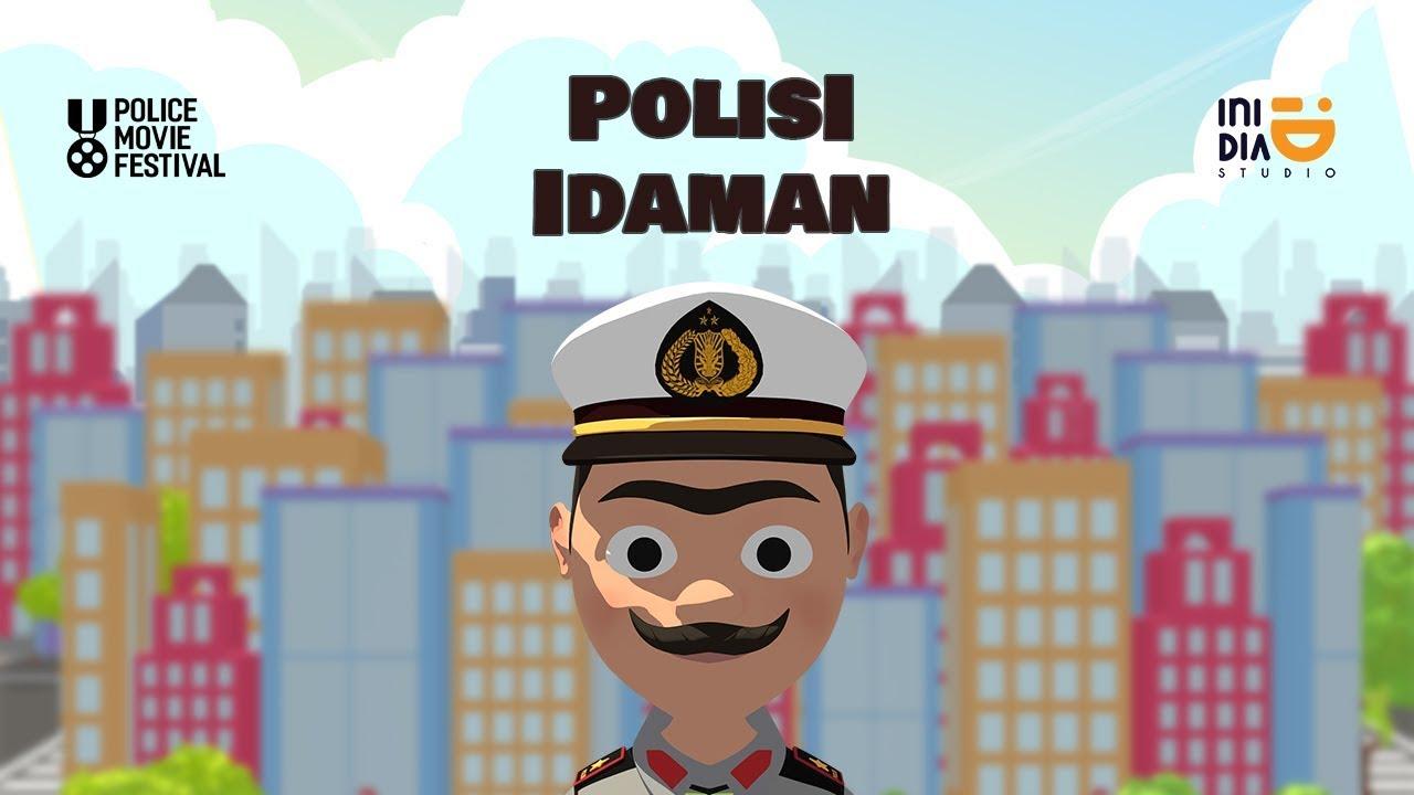 Polisi Idaman | Police Movie Festival | INIDIA ANIMATION | IniDia Studio | Studio Animasi Bali