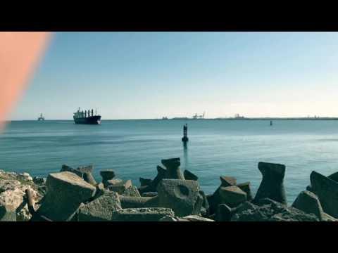 M/V SEA BRAVE ARRIVING CONSTANTA PORT