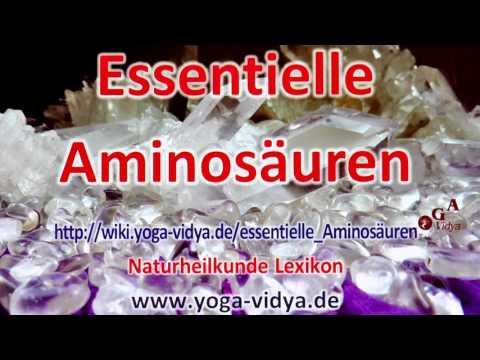 essentielle Aminosäuren