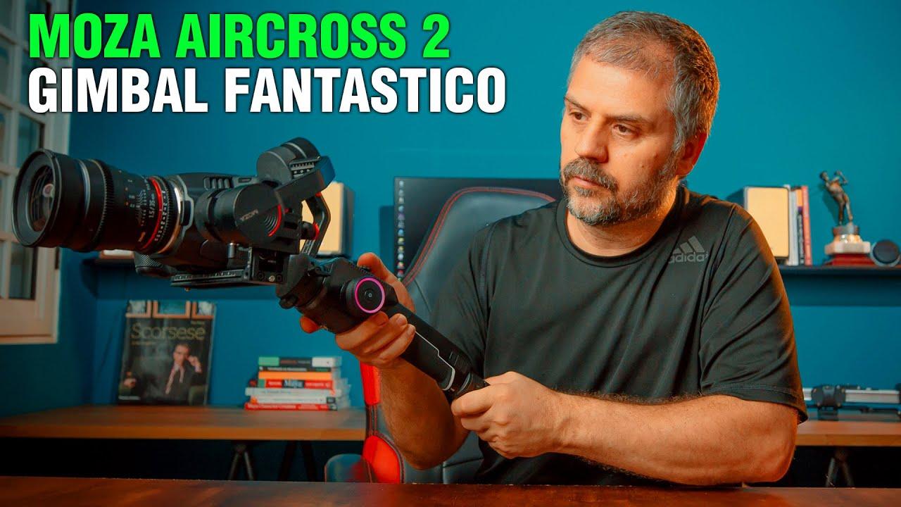 Moza Aircross 2  melhor gimbal de 2020. Review completo em português