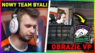 NOWY TEAM BYALI z VP ?! - STREAMER obraża VIRTUS.PRO ? - KINGUIN w FINALE  CS:GO Twitch Clips