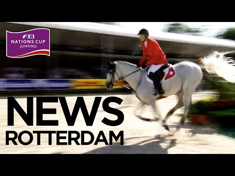 Showdown between Sweden and Switzerland in Rotterdam | FEI Nations Cup™ Jumping