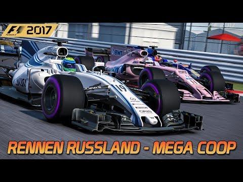 Das Rennen in Russland | F1 2017 [HD] [GER] GP von Sotschi - Mega Coop