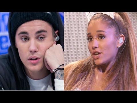WTF! Justin Bieber & Ariana Grande Feuding?! | Hollywire