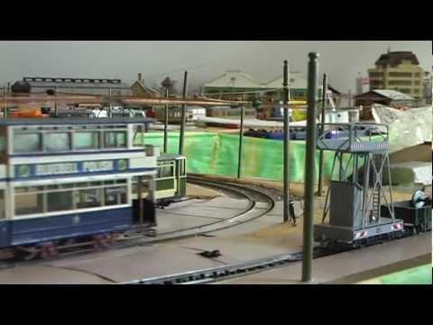 Birmingham Tram Model in 00