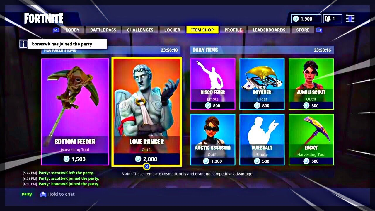 Fortnite ITEM SHOP April 10 2018! NEW Featured items and ...