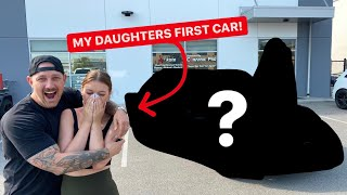 SURPRISING MY DAUGHTER WITH HER FIRST CAR!
