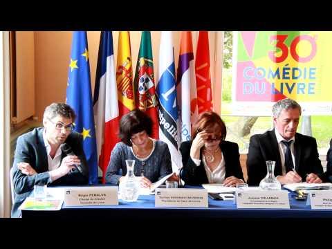 Conférence de Presse   La Comédie du Livre   Montpellier   050515