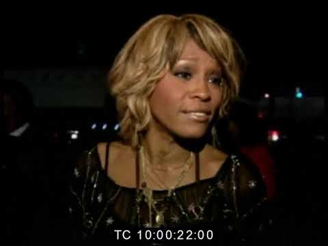 Rare 2005 Whitney Houston interview at the BET awards
