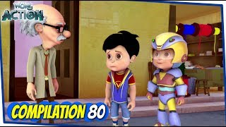 Vir The Robot Boy | Animated Series For Kids | Compilation 80 | WowKidz Action