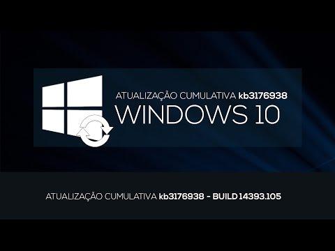 ATUALIZAÇÃO CUMULATIVA (BUILD 14393.105)...